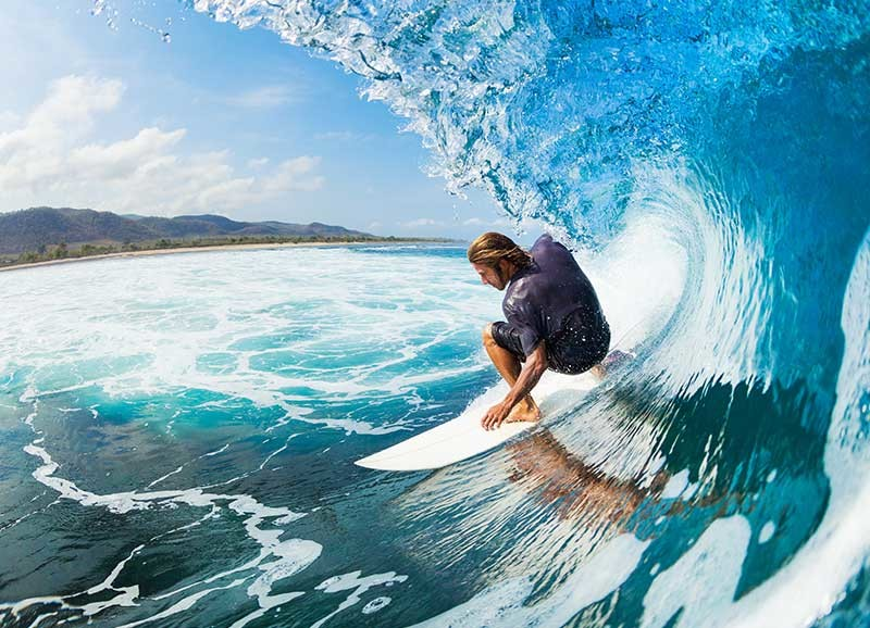 What is the best time to surf?
